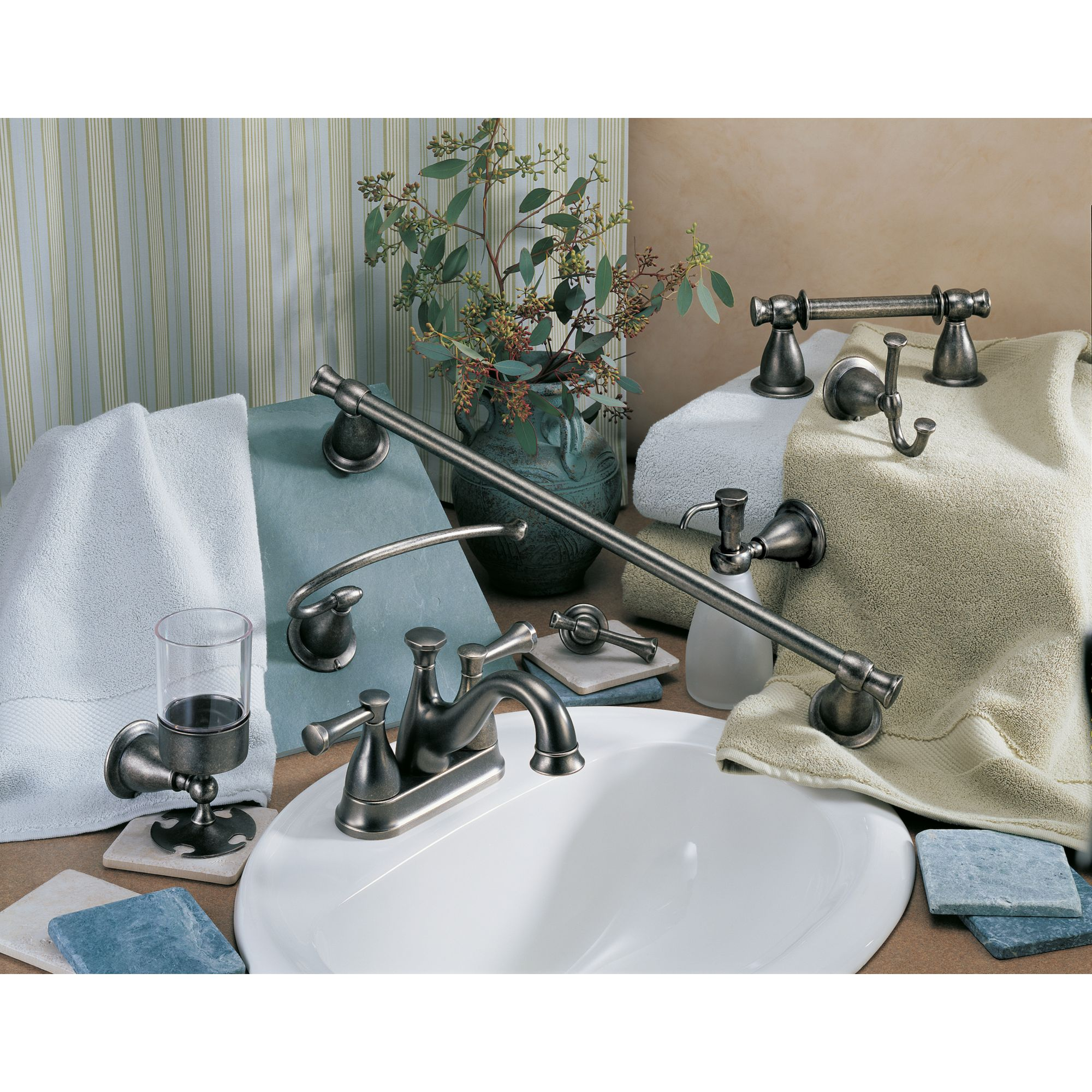 delta bath accessories matching faucet