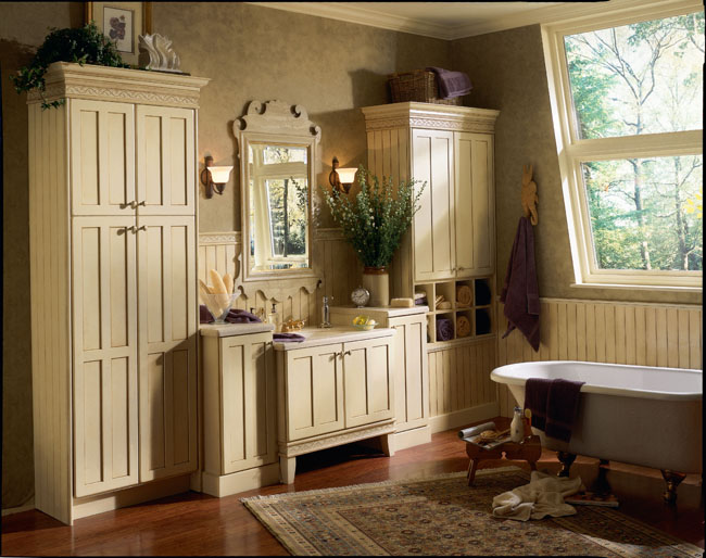design for your space with semi custom cabinetry from kraftmaid
