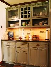 StarMark Mossy Green cabinet