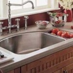 Dual basin stainless sink