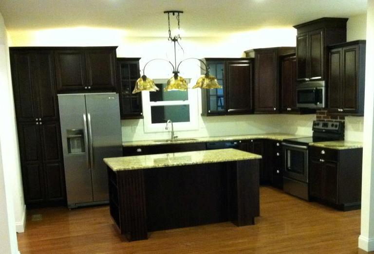 Kitchen Cabinets Varied Heights