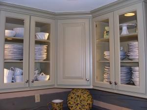 Jordan corner cabinets