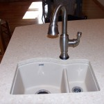 Jordan kitchen Blanco prep sink