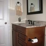 After: Stylish vanity in neutral color palette