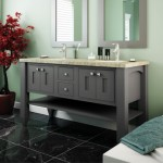 StarMark vanity in Peppercorn Gray