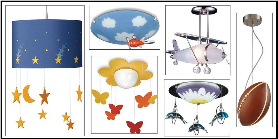 Lighting for children's rooms