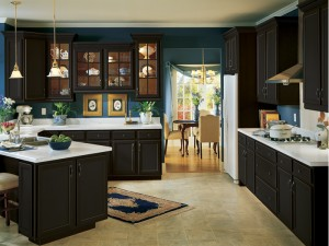 Armstrong Cabinets Onyx finish