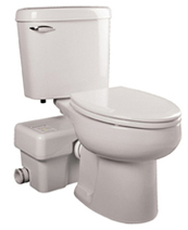 Put A Bathroom Anywhere Toilet Perfect For Remodeling Additions Without Breaking Concrete Floors